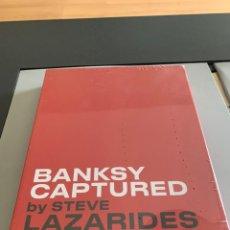 Libros: BANKSY CAPTURED. EDICIÓN AMIGOS Y FAMILIARES. STEVE LAZARIDES. SOLO 500 EJEMPLARES EDITADOS. Lote 223269318