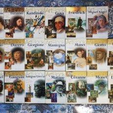 Libros: COLECCION COMPLETA ELECTA ARTBOOK LIBROS DE ARTE, PINTURA PRERRAFAELISTAS, KANDINSKI, TIZIANO, GOYA. Lote 223821230