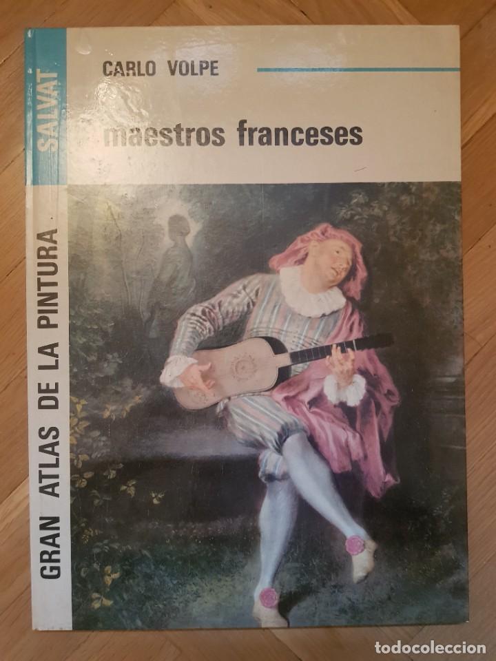 GRAN ATLAS DE LA PINTURA MAESTROS FRANCESES CARLO VOLPE (Libros Nuevos - Bellas Artes, ocio y coleccionismo - Pintura)