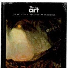 Libros: TURNER Y EL MIEDO MONOGRÁFICO ED EL PAÍS 2020 1ª EDICIÓN COLECC THIS IS ART LIBRO DVD + PLASTIFICADO. Lote 225583080