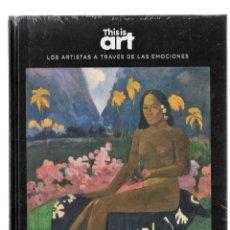 Libros: GAUGUIN Y EL DESAMOR MONOGRÁFICO ED EL PAÍS 2020 1ª EDICIÓN COLEC THIS IS ART LIBRO DVD+PLASTIFICADO. Lote 225596952