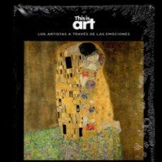 Libri: GUSTAV KLIMT Y LOS CELOS MONOGRÁFICO ED EL PAÍS 2020 1ª EDICI COL THIS IS ART LIBRO DVD+PLASTIFICADO. Lote 225782955