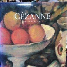 Libros: PAUL CEZANNE-MEYER SCHAPIRO-EDITA JULIO OLLERO/BIBLIOTECA DE ARTE-1991 ILUSTRADO PROFUSAMENTE. Lote 227869435