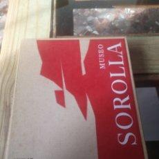 Libros: MUSEO SOROLLA AGUILAR CON DIAPOSITIVAS. Lote 229507185