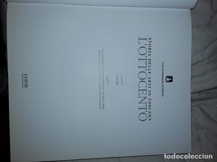 Libros: Historia del arte en la Toscana.LOttocento - Foto 4 - 231712770