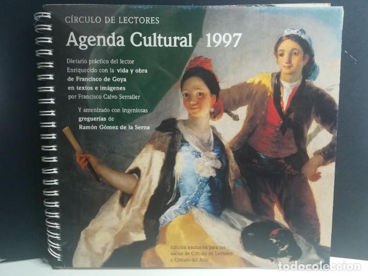 AGENDA CULTURAL 1997 CIRCULO DE LECTORES (Libros Nuevos - Bellas Artes, ocio y coleccionismo - Pintura)