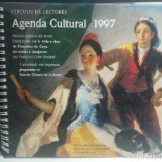 Libros: AGENDA CULTURAL 1997 CIRCULO DE LECTORES. Lote 232216975