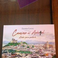 "Libros: LIBRO ""CAMINO DEL APÓSTOL. ANDAR PARA PINTARLO"". ZACARÍAS CEREZO.. Lote 233115520"
