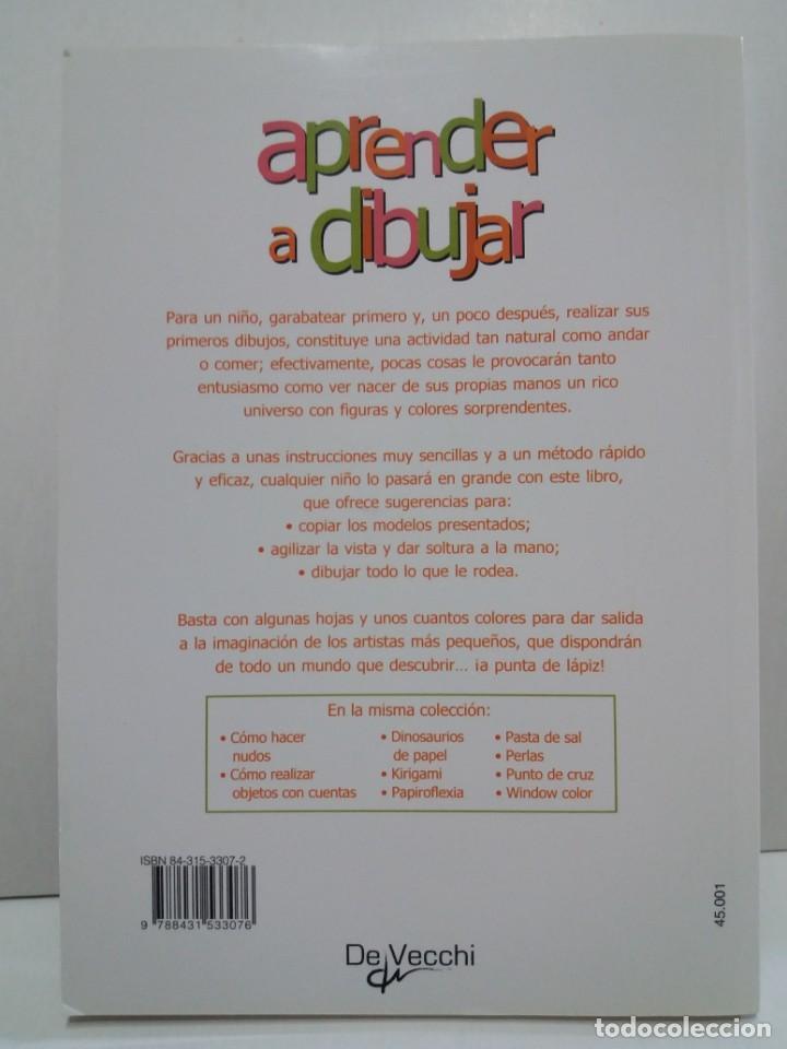Libros: ENCANTADOR LIBRO APRENDE A DIBUJAR TECNICAS Y MODELOS PARA PEQUEÑOS ARTISTAS - Foto 2 - 236061665