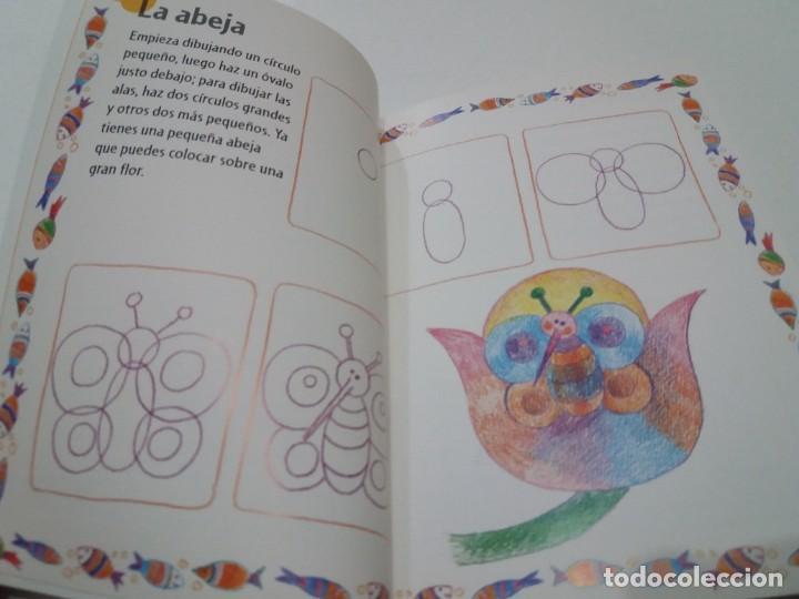 Libros: ENCANTADOR LIBRO APRENDE A DIBUJAR TECNICAS Y MODELOS PARA PEQUEÑOS ARTISTAS - Foto 6 - 236061665