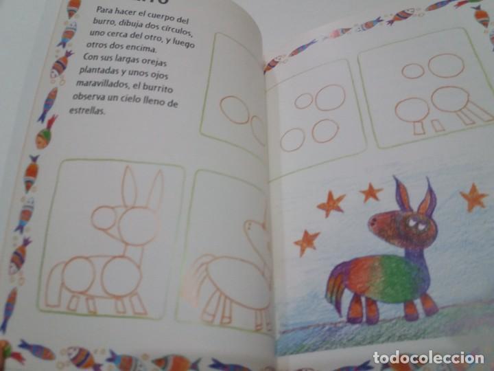 Libros: ENCANTADOR LIBRO APRENDE A DIBUJAR TECNICAS Y MODELOS PARA PEQUEÑOS ARTISTAS - Foto 7 - 236061665