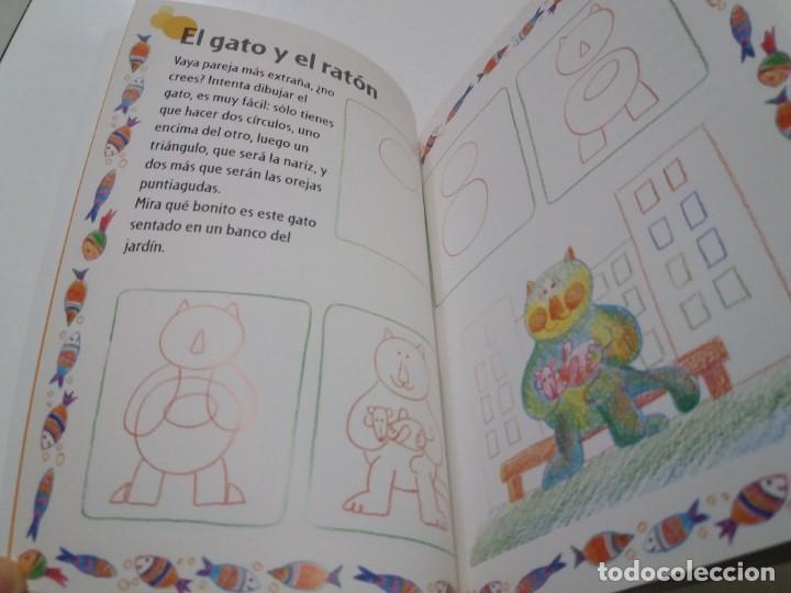 Libros: ENCANTADOR LIBRO APRENDE A DIBUJAR TECNICAS Y MODELOS PARA PEQUEÑOS ARTISTAS - Foto 8 - 236061665