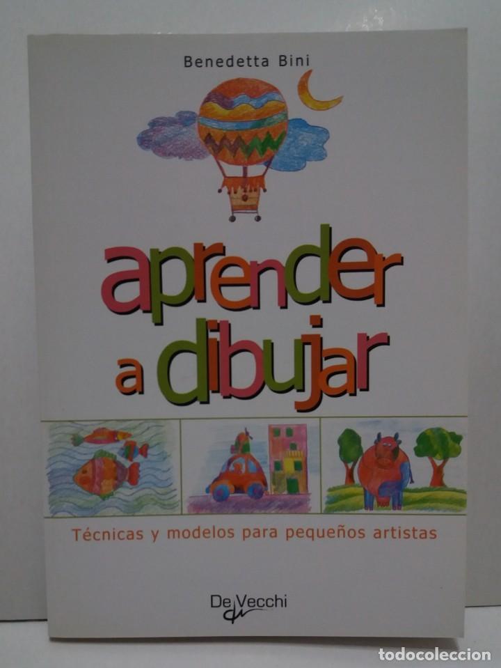 Libros: ENCANTADOR LIBRO APRENDE A DIBUJAR TECNICAS Y MODELOS PARA PEQUEÑOS ARTISTAS - Foto 9 - 236061665