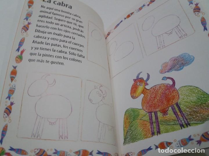 Libros: ENCANTADOR LIBRO APRENDE A DIBUJAR TECNICAS Y MODELOS PARA PEQUEÑOS ARTISTAS - Foto 10 - 236061665