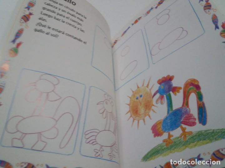 Libros: ENCANTADOR LIBRO APRENDE A DIBUJAR TECNICAS Y MODELOS PARA PEQUEÑOS ARTISTAS - Foto 11 - 236061665