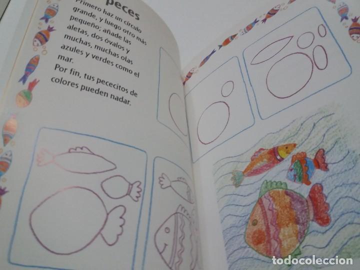 Libros: ENCANTADOR LIBRO APRENDE A DIBUJAR TECNICAS Y MODELOS PARA PEQUEÑOS ARTISTAS - Foto 13 - 236061665