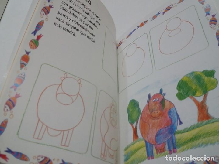 Libros: ENCANTADOR LIBRO APRENDE A DIBUJAR TECNICAS Y MODELOS PARA PEQUEÑOS ARTISTAS - Foto 15 - 236061665