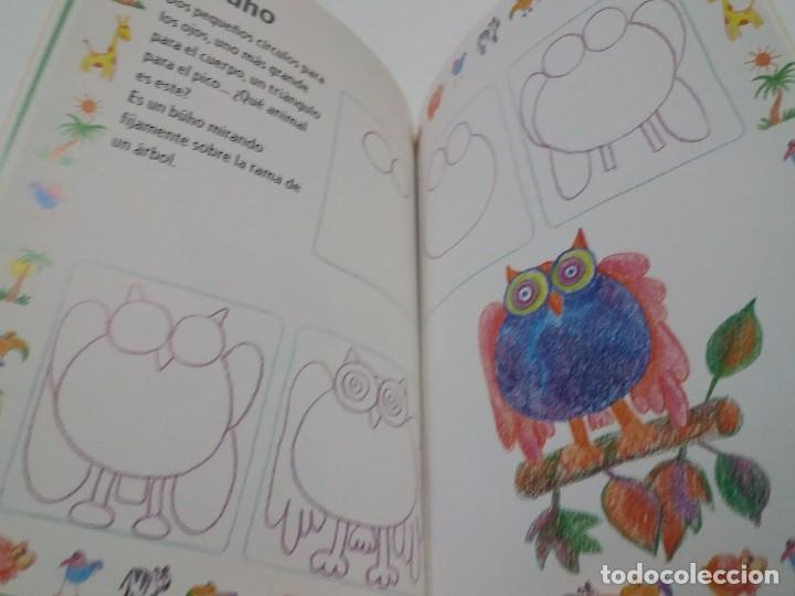 Libros: ENCANTADOR LIBRO APRENDE A DIBUJAR TECNICAS Y MODELOS PARA PEQUEÑOS ARTISTAS - Foto 20 - 236061665