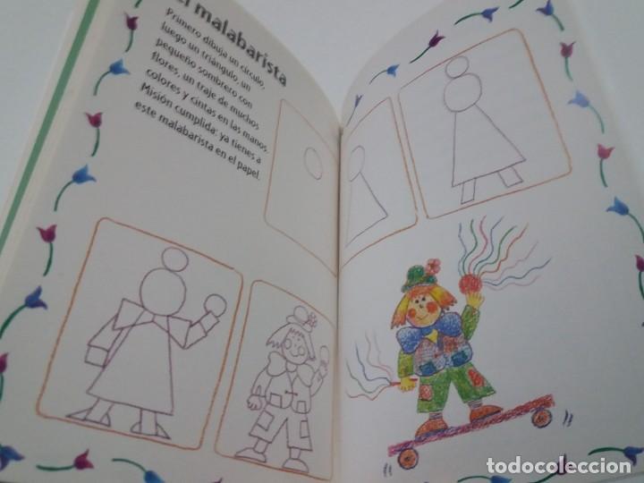 Libros: ENCANTADOR LIBRO APRENDE A DIBUJAR TECNICAS Y MODELOS PARA PEQUEÑOS ARTISTAS - Foto 30 - 236061665