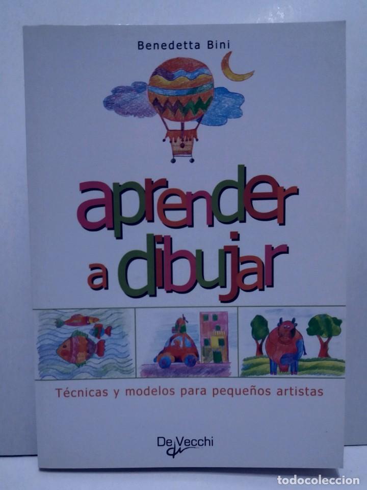 Libros: ENCANTADOR LIBRO APRENDE A DIBUJAR TECNICAS Y MODELOS PARA PEQUEÑOS ARTISTAS - Foto 35 - 236061665