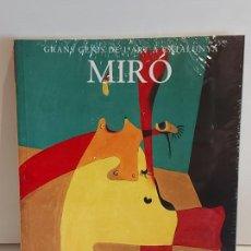 Libros: MIRÓ / GRANS GENIS DE L'ART A CATALUNYA / 6 / LIBRO PRECINTADO... Lote 236542720