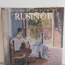 Libros: RUSIÑOL / GRANS GENIS DE L'ART A CATALUNYA / 11 / LIBRO PRECINTADO.. Lote 236544075