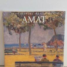 Libros: AMAT / GRANS GENIS DE L'ART A CATALUNYA / 14 / LIBRO PRECINTADO.. Lote 236544445