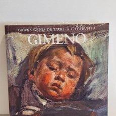Livros: GIMENO / GRANS GENIS DE L'ART A CATALUNYA / 15 / LIBRO PRECINTADO.. Lote 236546695