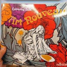 Libros: LIBRO PARA COLOREAR ART NOUVEAU. MANDALAS. Lote 236561400
