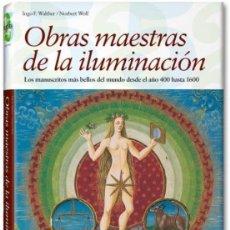 Libros: OBRAS MAESTRAS DE LA ILUMINACIÓN - ED. TASCHEN. Lote 237586665
