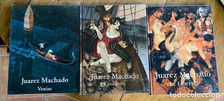 LOTE 3 LIBROS JUAREZ MACHADO/ LE LIBERTIN, VENISE, CROISIÈRES (Libros Nuevos - Bellas Artes, ocio y coleccionismo - Pintura)