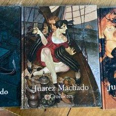 Libros: LOTE 3 LIBROS JUAREZ MACHADO/ LE LIBERTIN, VENISE, CROISIÈRES. Lote 238068125