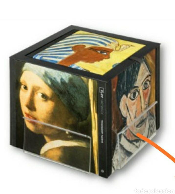 OCASIÓN, NUEVO JOYAS DEL ARTE, CON EXPOSITOR CUBO DE MADERA ORIGINAL, NUEVO SIN ESTRENAR Y COMPLETO (Libros Nuevos - Bellas Artes, ocio y coleccionismo - Pintura)