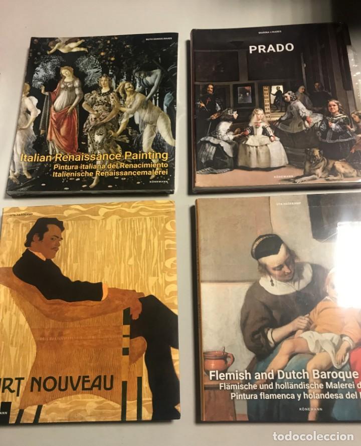 PINTURA FLAMENCA Y HOLANDESA, ITALIANA, ART NOUVEAU, PRADO, 4 TOMOS (Libros Nuevos - Bellas Artes, ocio y coleccionismo - Pintura)