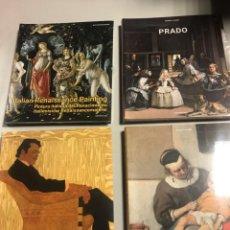 Libros: PINTURA FLAMENCA Y HOLANDESA, ITALIANA, ART NOUVEAU, PRADO, 4 TOMOS. Lote 239438350
