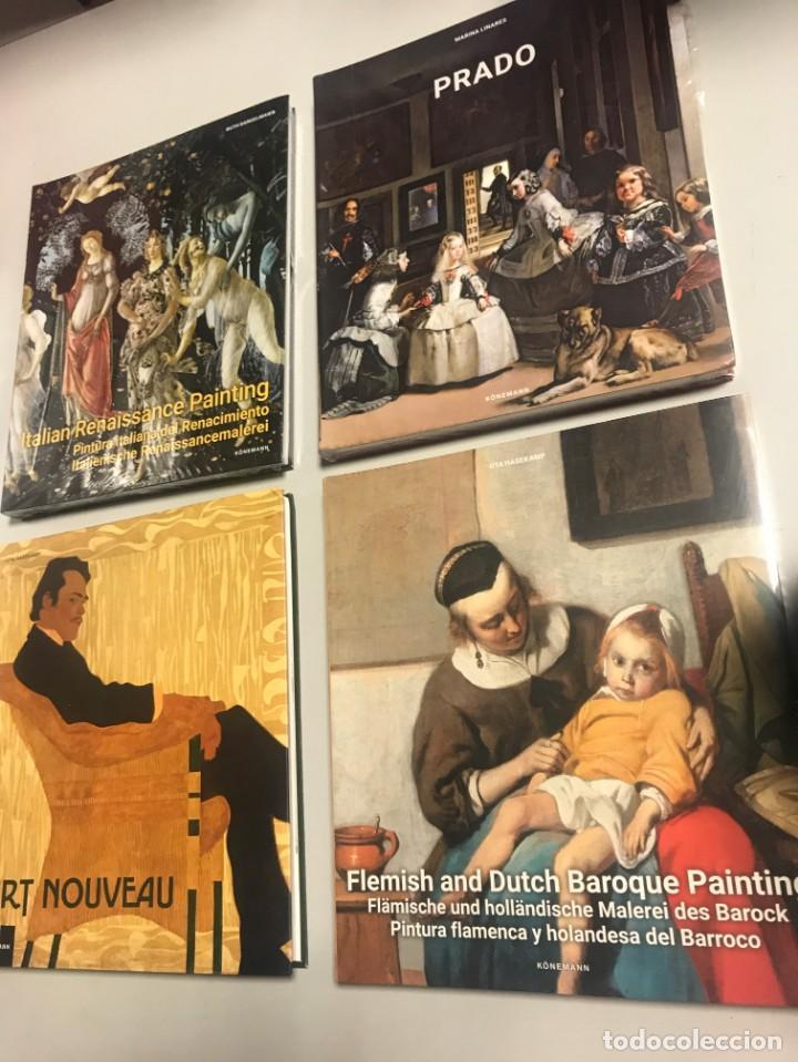 Libros: Pintura Flamenca y Holandesa, Italiana, Art Nouveau, Prado, 4 tomos - Foto 2 - 239438350
