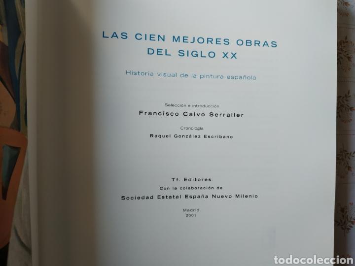 Libros: Las 100 mejores obras del siglo xx. Historia Visual de la pintura Francisco Calvo Serraller. - Foto 5 - 241166385