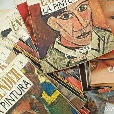 Libros: ENTENDER LA PINTURA - CUADERNOS COLECCIONABLES VARIOS NÚMEROS. Lote 288443473