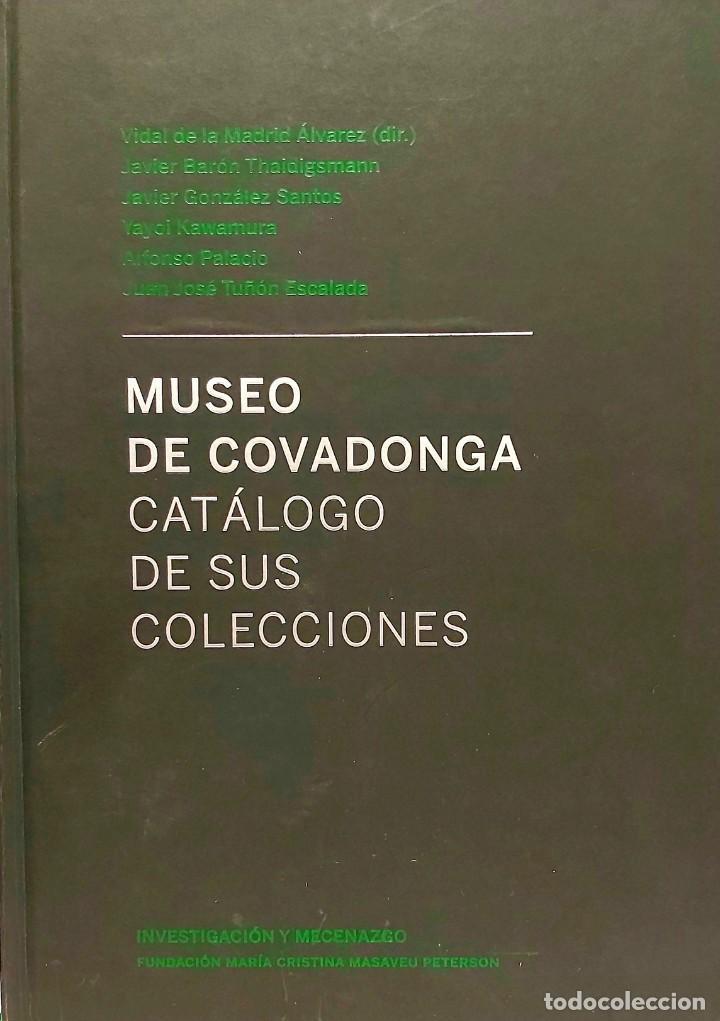 LIBRO CON HISTORIA DE COVADONGA Y CATÁLOGO DE SU MUSEO. ASTURIAS, OVIEDO, GIJON, AVILÉS, ENVÍO A ES (Libros Nuevos - Bellas Artes, ocio y coleccionismo - Pintura)