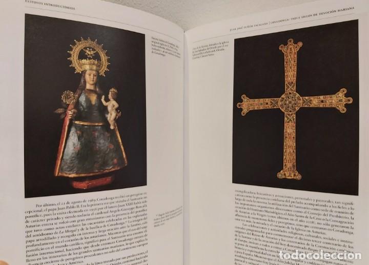 Libros: LIBRO CON HISTORIA DE COVADONGA Y CATÁLOGO DE SU MUSEO. Asturias, Oviedo, Gijon, Avilés, envío a Es - Foto 5 - 245739580