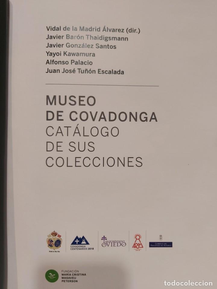 Libros: LIBRO CON HISTORIA DE COVADONGA Y CATÁLOGO DE SU MUSEO. Asturias, Oviedo, Gijon, Avilés, envío a Es - Foto 18 - 245739580