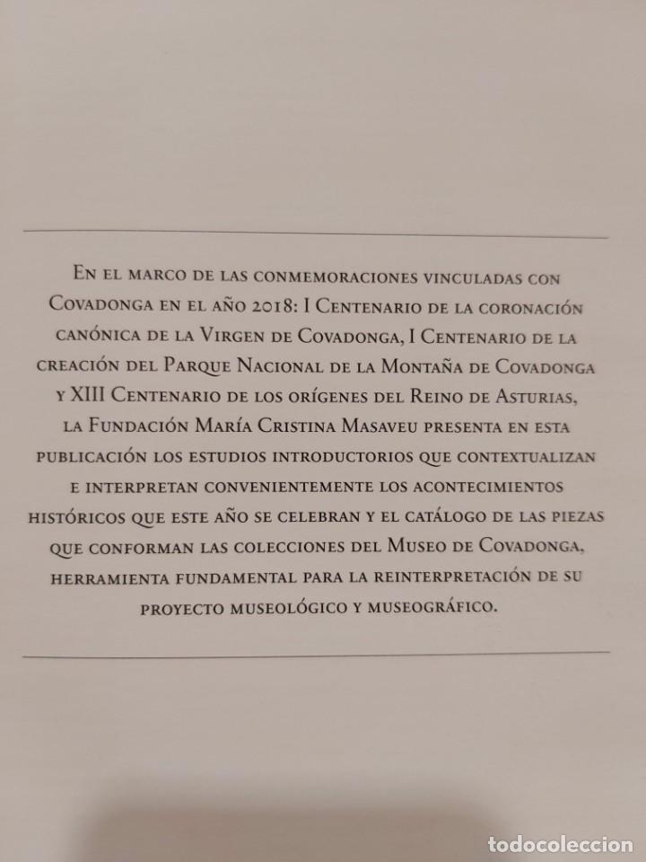 Libros: LIBRO CON HISTORIA DE COVADONGA Y CATÁLOGO DE SU MUSEO. Asturias, Oviedo, Gijon, Avilés, envío a Es - Foto 19 - 245739580
