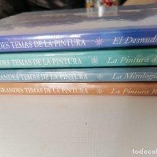 Libros: LOTE 4 LIBROS GRANDES TEMAS DE LA PINTURA. Lote 254757065