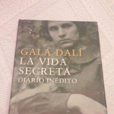 Livros: LA VIDA SECRETA-DIARIO INEDITO-GALA DALI. Lote 257516705