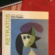 Libros: RETRATOS OBRAS MAESTRAS CENTRE POMPIDOU. Lote 261251650