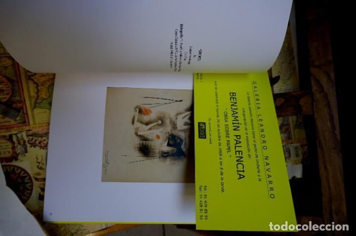Libros: benjamin palencia.matheos corredor jose. obra sobre papel.galeria leandro navarro. - Foto 2 - 261331240