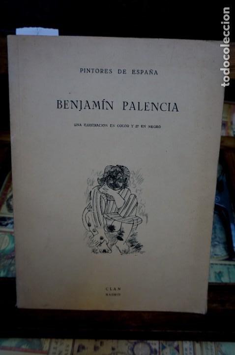 BENJAMIN PALENCIA,UNA ILUSTRACION EN COLOR Y 27 EN NEGRO. (Libros Nuevos - Bellas Artes, ocio y coleccionismo - Pintura)