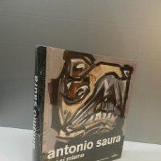 Libros: LIBRO PINTURA PINTOR ANTONIO SAURA POR SÍ MISMO ARCHIVES ED LUNWERG 2009 NUEVO A ESTRENAR DIFICIL. Lote 262215005