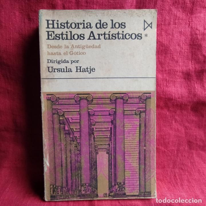 HISTORIA DE LOS ESTILOS ARTÍSTICOS: DESDE LA ANTIGÜEDAD HASTA EL GÓTICO. TOMO I - HATJE, URSULA (DIR (Libros Nuevos - Bellas Artes, ocio y coleccionismo - Pintura)