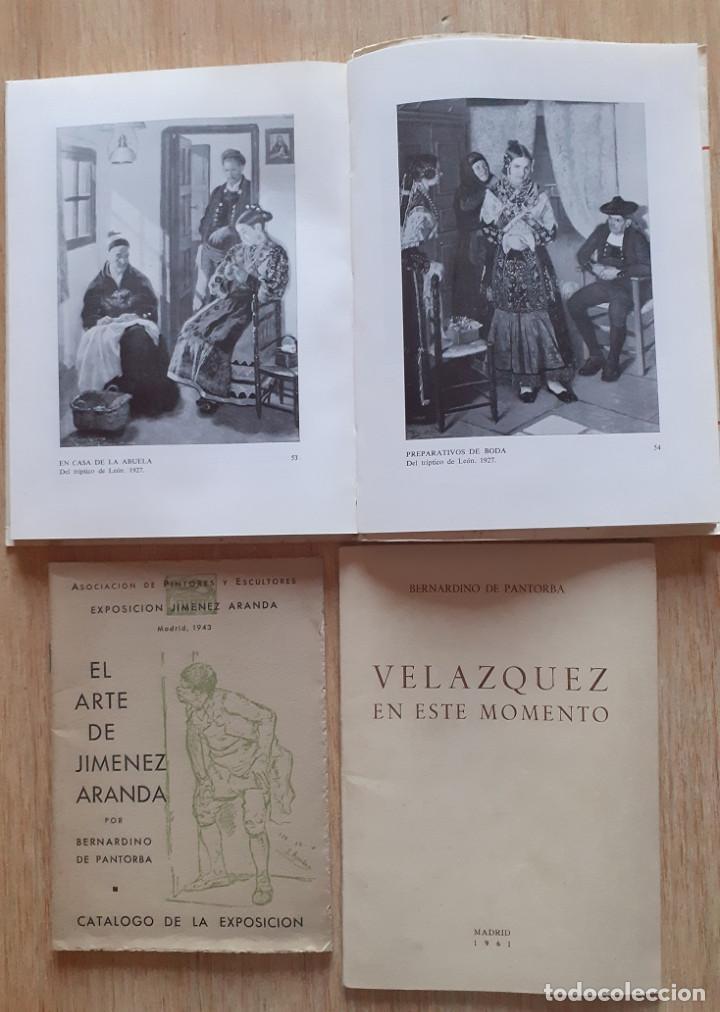 Libros: 3 LIBROS DE BERNARDINO DE PANTORBA PINTORES VELÁZQUEZ,LOPEZ CABRERA,JIMENEZ ARANDA - VER DESCRIPCIÓN - Foto 2 - 262847140